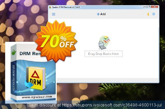 Get 70% OFF Epubor All DRM Removal offering sales