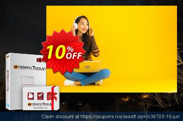 SysInfoTools PDF Split discount 10% OFF, 2019 Halloween offering sales
