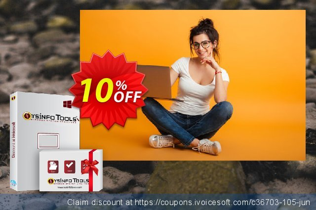 Get 10% OFF SysInfoTools SQL Backup Recovery offering sales