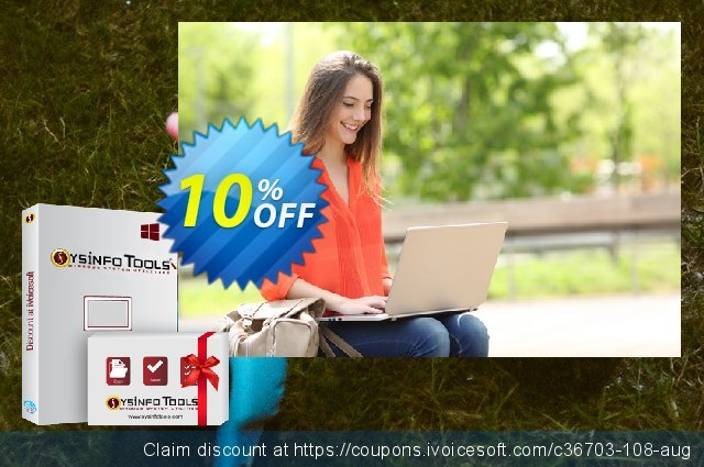 SysInfoTools Photoshop Recovery discount 10% OFF, 2020 Black Friday sales