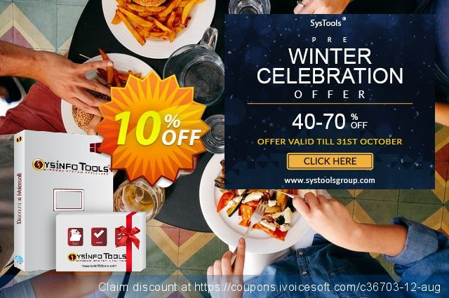 SysInfoTools OpenOffice Base Repair discount 10% OFF, 2019 Halloween offering sales