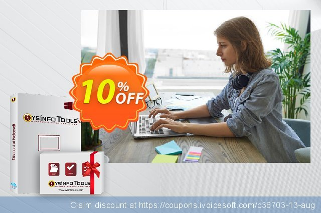 SysInfoTools PDF Repair discount 10% OFF, 2021 Labour Day offering sales. SYSINFODISCOUNT