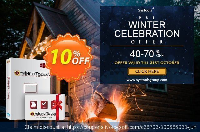 SysInfoTools Excel to vCard Converter[Technician License] discount 10% OFF, 2020 Christmas Day offering sales