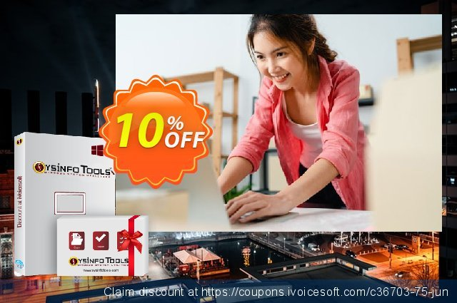SysInfoTools PDF Restriction Remover discount 10% OFF, 2021 Labour Day offering sales. SYSINFODISCOUNT