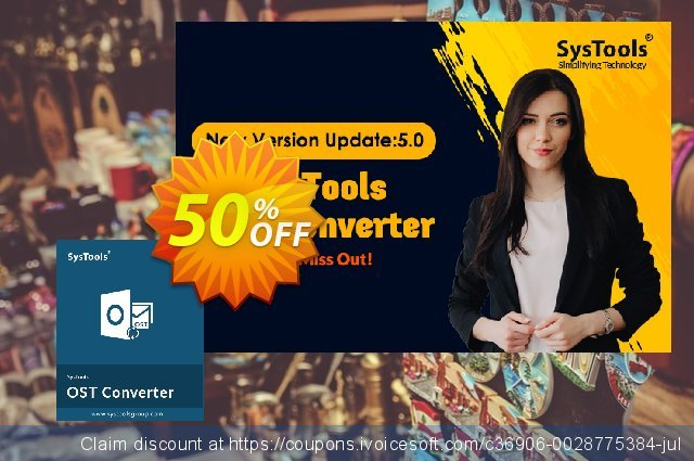 SysTools OST Converter (Technician License) discount 25% OFF, 2020 Thanksgiving discount