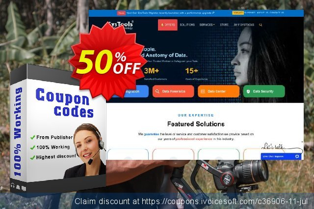 Bundle Offer - Systools Exchange Recovery + OST Recovery + Outlook Recovery 令人吃惊的 产品销售 软件截图