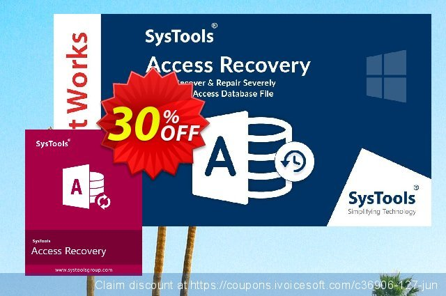 SysTools Access Recovery (Enterprise License) 令人恐惧的 产品销售 软件截图