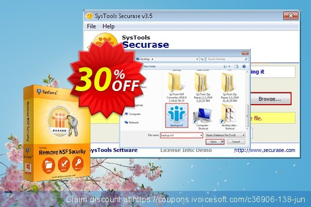 SysTools Securase (Business) discount 30% OFF, 2020 Exclusive Student discount offering sales