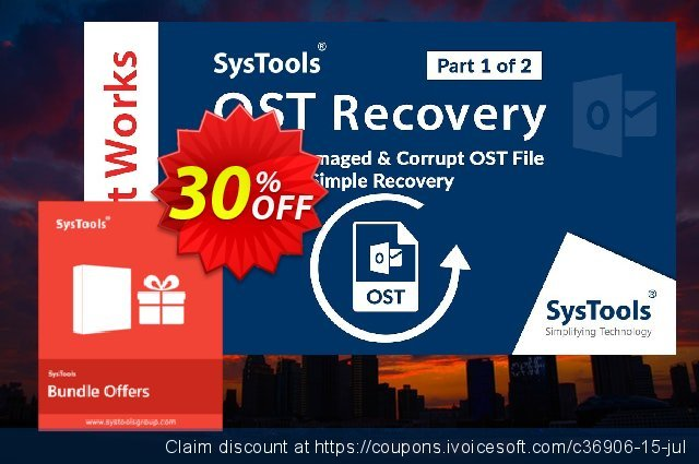 Bundle Offer: RecoveryTools for Exchange OST + MS Outlook  놀라운   할인  스크린 샷