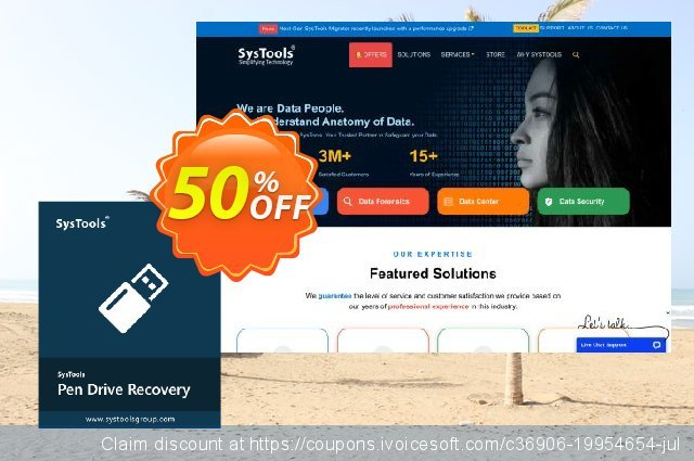 SysTools USB Recovery discount 30% OFF, 2021 Fourth of July promo sales. 30% OFF SysTools USB Recovery, verified