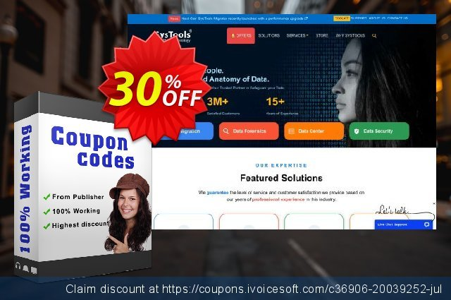Bundle Offer - SysTools Mac AOL Backup + Gmail Backup + Hotmail Backup discount 20% OFF, 2020 Halloween deals