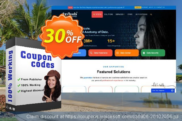 Bundle Offer - SysTools PST Password Remover + Outlook Recovery 可怕的 产品销售 软件截图
