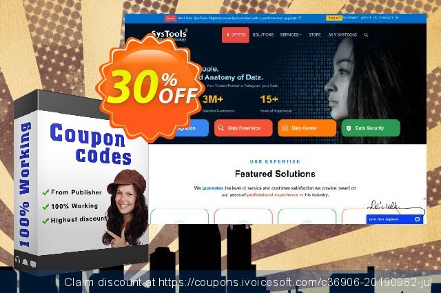Bundle Offer - SysTools OST Recovery + PST Merge discount 30% OFF, 2020 Exclusive Teacher discount offering sales