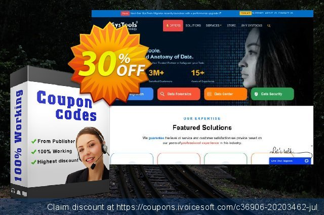 Bundle Offer - SysTools CDR Recovery + CorelDraw GMS Password Remover discount 20% OFF, 2020 Halloween offering sales