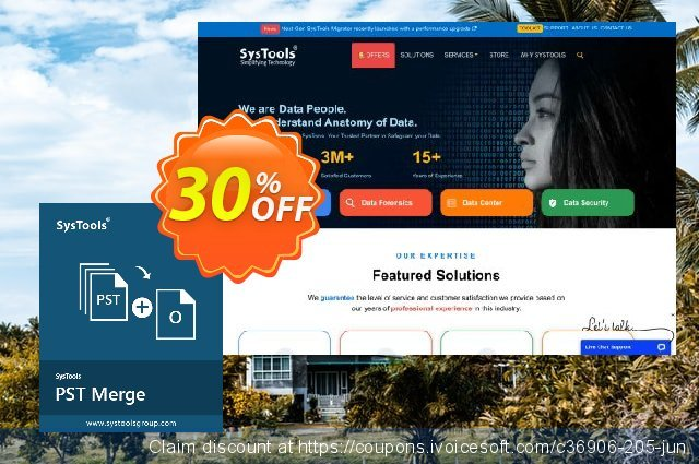 SysTools PST Merge (Business License)  신기한   세일  스크린 샷