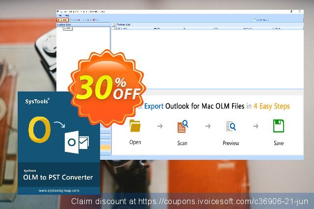 SysTools Outlook Mac Exporter (Business License) discount 30% OFF, 2020 Back to School shopping offering sales
