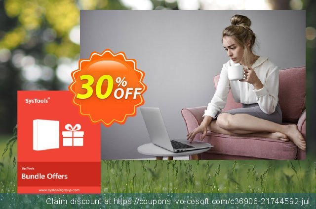 Bundle Offer - SysTools Outlook OST to NSF Converter + OST Recovery 大的 优惠码 软件截图