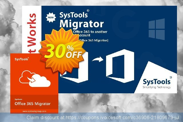 SysTools Office 365 Express Migrator  굉장한   세일  스크린 샷