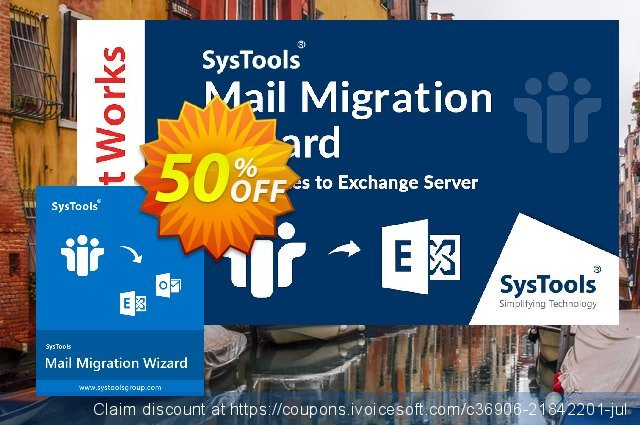 SysTools Mail Migration Wizard discount 30% OFF, 2020 Halloween offer