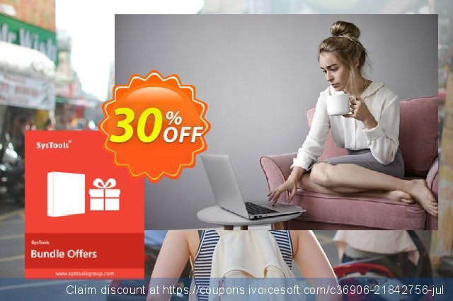Bundle Offer - SysTools PST Finder + PST Merge + Split PST 美妙的 产品销售 软件截图