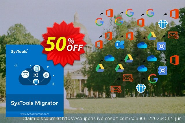 SysTools Migrator (G Suite to G Suite Migration) 气势磅礴的 产品交易 软件截图