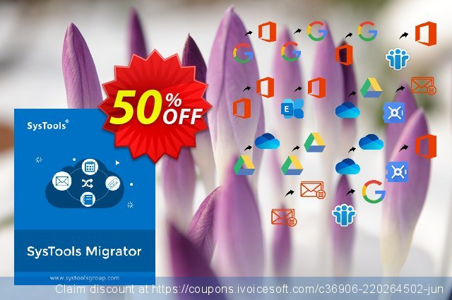 SysTools Migrator (G Suite to Office 365) 激动的 促销销售 软件截图