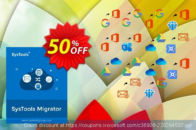 SysTools Migrator (Google Vault to Office 365) discount 50% OFF, 2021 Fourth of July offering sales. 50% OFF SysTools Migrator (Google Vault to Office 365), verified