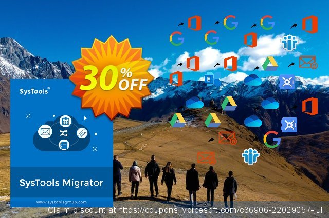 SysTools Migrator (G Suite) + Managed Services 棒极了 促销 软件截图