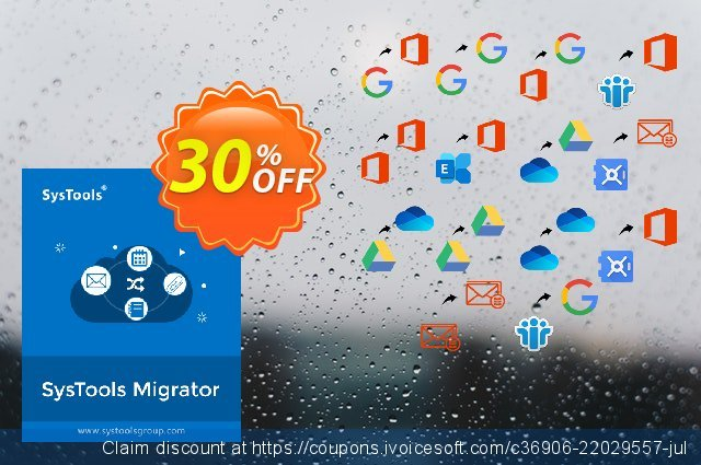 SysTools Migrator Premium discount 30% OFF, 2021 American Independence Day offering sales. Weekend Offer