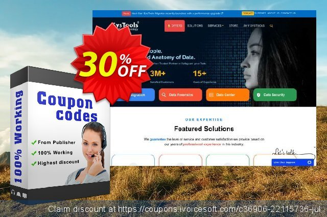 SysTools G Suite to Office 365 + Managed Services + Infrastructure discount 30% OFF, 2020 Exclusive Student discount offering sales