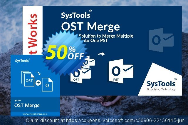 SysTools OST Merge discount 30% OFF, 2020 Exclusive Student deals offering sales