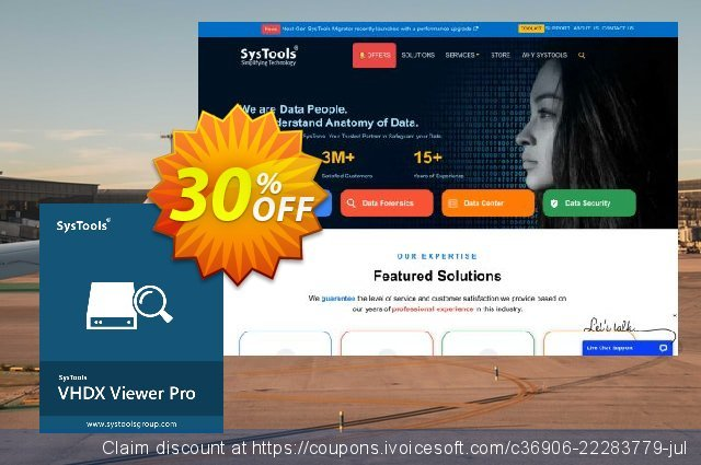 SysTools VHDX Viewer Pro discount 30% OFF, 2020 University Student offer sales