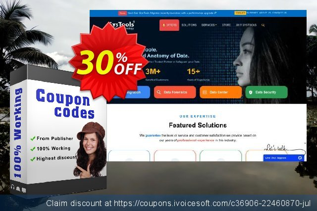 Bundle Offer - SysTools Exchange Recovery AD + OST Recovery + Outlook Recovery 最佳的 折扣码 软件截图