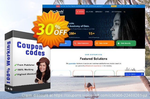 Bundle Offer - SysTools EDB Converter AD + OST Recovery + Outlook Recovery 惊人的 产品销售 软件截图