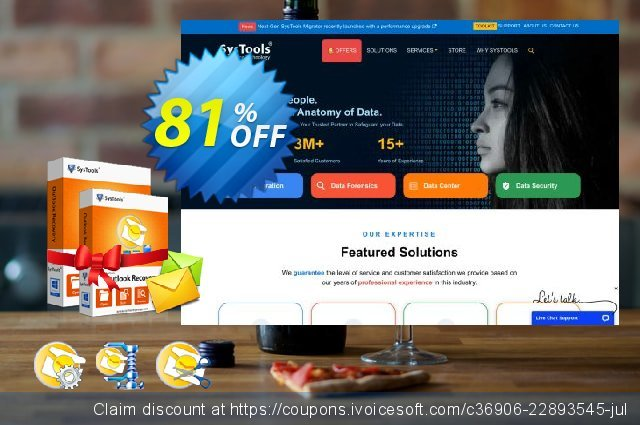 Special Offer - SysTools Outlook Toolbox  위대하   제공  스크린 샷