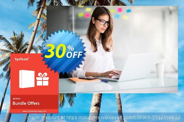 Systools Outlook OST Bundle discount 30% OFF, 2020 Back to School event promotions