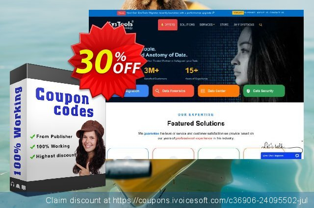 Bundle Offer - SysTools Disk Image Viewer Pro + Virtual Machine Email Recovery  경이로운   촉진  스크린 샷