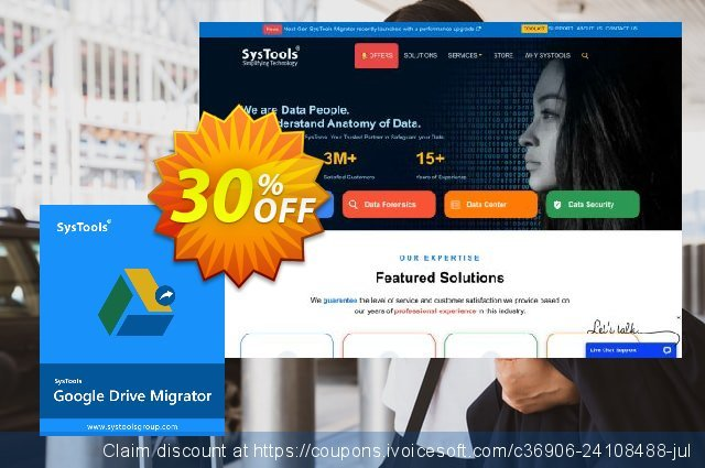 SysTools Google Drive Migrator Tool discount 20% OFF, 2019 Student deals offering sales