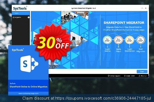 SysTools SharePoint Migrator discount 20% OFF, 2020 January deals