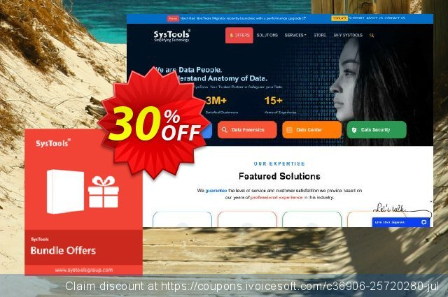 SysTools Email Backup for Mac Toolkit discount 30% OFF, 2019 New Year's eve offering sales