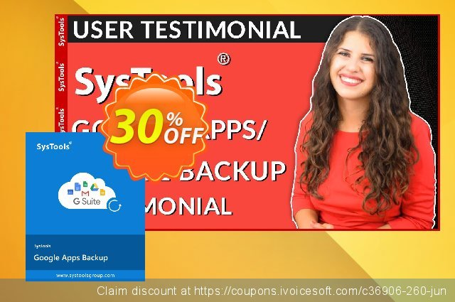 SysTools Google Apps Backup - Single User License  대단하   제공  스크린 샷