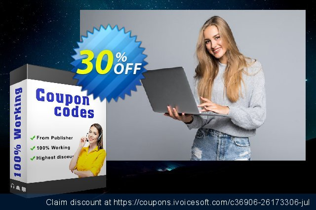 SysTools PDF Toolbox (All License type) discount 30% OFF, 2021 New Year's Day offering sales