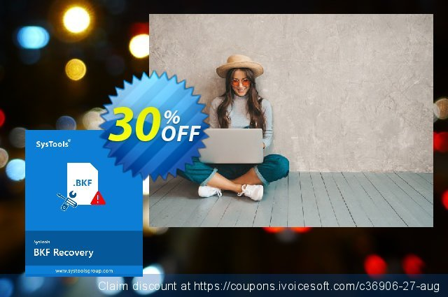 SysTools BKF Repair (Business License) discount 30% OFF, 2020 Exclusive Student discount offering sales