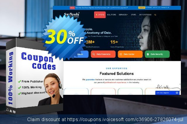 Bundle Offer - SysTools Mac Outlook Recovery + Windows Outlook Recovery 特殊 销售 软件截图