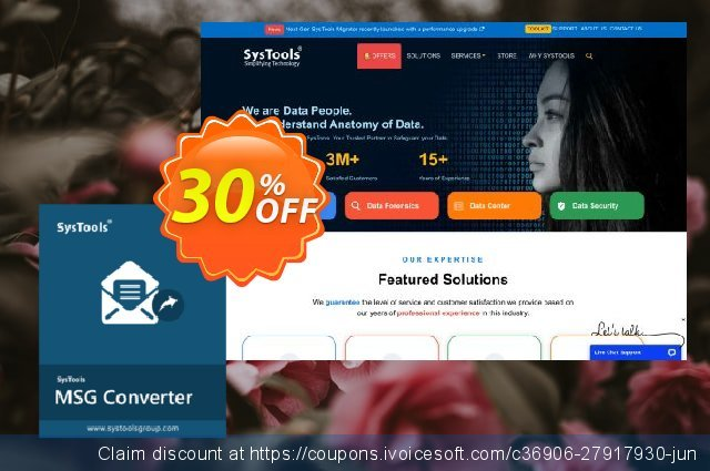 SysTools MSG Converter discount 30% OFF, 2020 Exclusive Student discount offering sales