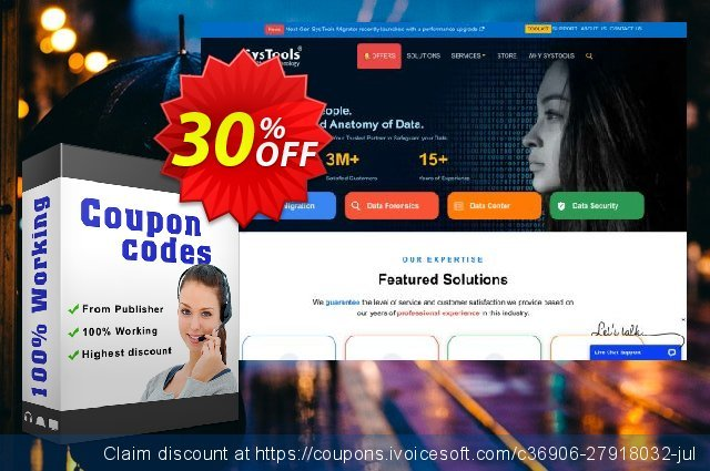 Bundle Offer - SysTools MSG Converter + PST Converter  최고의   프로모션  스크린 샷