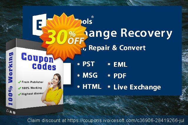 SysTools EDB Converter discount 30% OFF, 2020 University Student deals promo sales