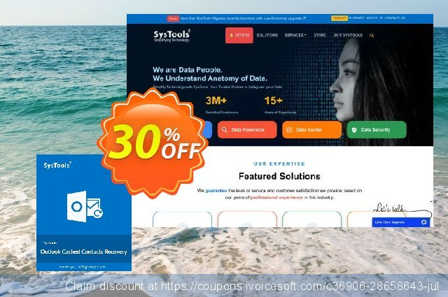 SysTools Outlook Cached Contacts Recovery (Mac) discount 30% OFF, 2020 Exclusive Teacher discount discount