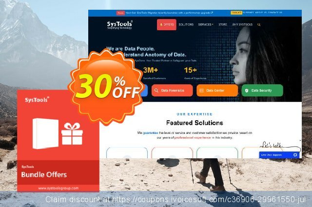 Bundle Offer - SysTools Outlook Recovery + PST Converter  위대하   제공  스크린 샷