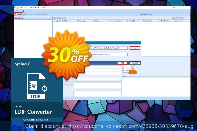 SysTools LDIF Converter discount 30% OFF, 2020 New Year's Day offering sales